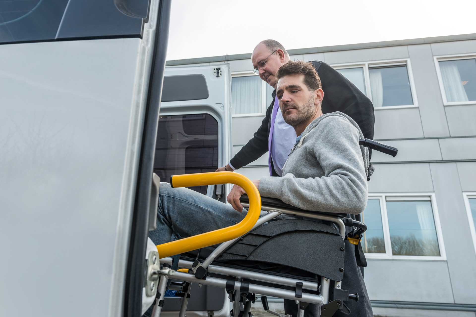 Krankentransport Rollstuhl Taxi